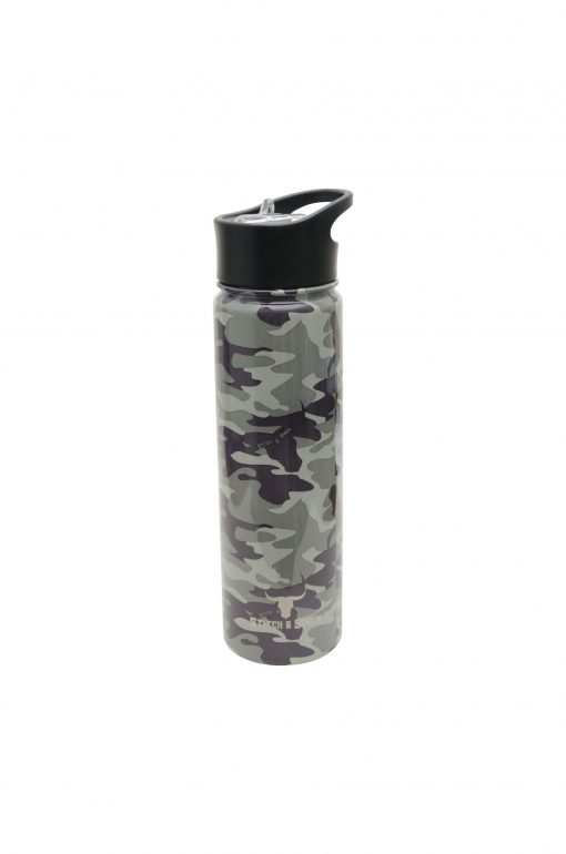 Stainless Steel Water Bottle - Vacuum Insulated Leak Proof Flask in Camouflage - Super Tough Durable Lightweight in 3 sizes (22, 32, 40oz) - Stitch & Simon