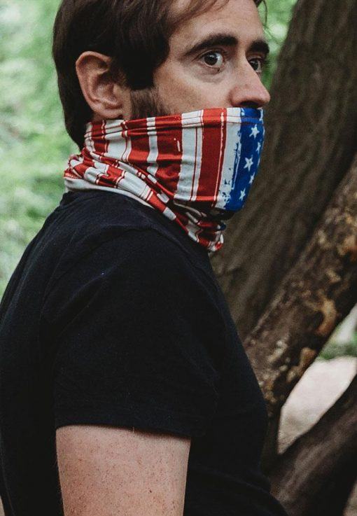 Neck Gaiter with PM2.5 Filter - Breathable Neck Gaiter - UV & Dust Protection Neck Gaiter Face Mask - Face Mask for Men and Women - Reusable Face Bandana - Balaclava Face Mask for Cycling - Stitch & Simon