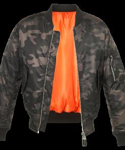 Camo Jacket - Camouflage Army Style Bomber Jackets - Stitch & Simon