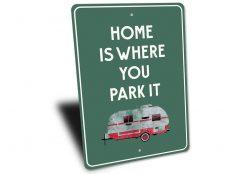 Camper Sign - Stitch & Simon