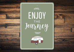 Camping Journey Sign - Camping Sign - Stitch & Simon