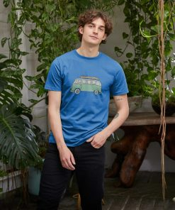 Blue Happy Camper T-shirt
