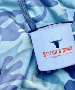 Vintage Camping Cups - Enamel Camping Mugs For Outdoor Use Made From Stainless Steel by Stitch & Simon - Stitch & Simon