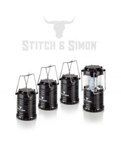 Camping Lantern. LED Lantern,Suitable for Survival for Hurricane, Emergency Light,Storm,Outages,Outdoor Portable Lanterns - Stitch & Simon