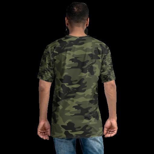 Camo T-Shirt Green Camouflage Stitch & Simo