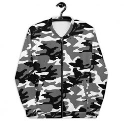Camouflage Jacket in Snow Camo Design by Stitch & Simon