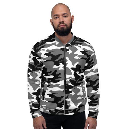 green camouflage bomber jacket for men