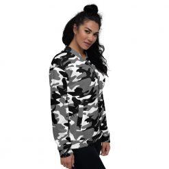 Womens Camo Jacket Snow Camouflage