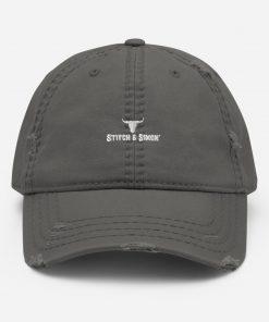 Grey Dads Hat