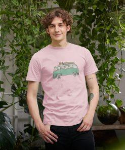 Pink VW Camper Van T-Shirts