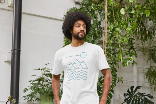 Simplified Nature Mens Organic Ethical T-Shirts by Stitch & Simon
