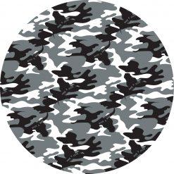 Camouflage snow pattern