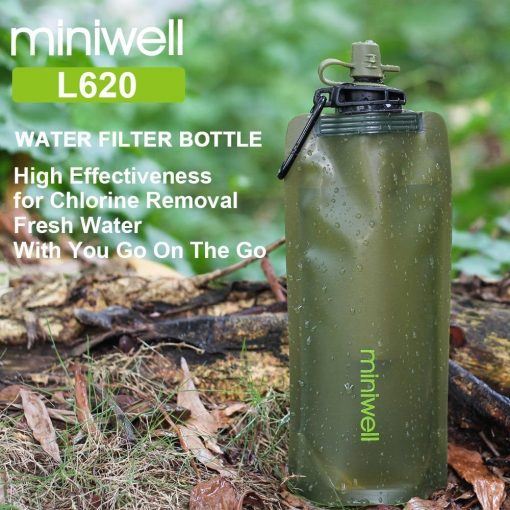 Survival Outdoor Camping & Hiking Portable Water Purification with bag - Stitch & Simon