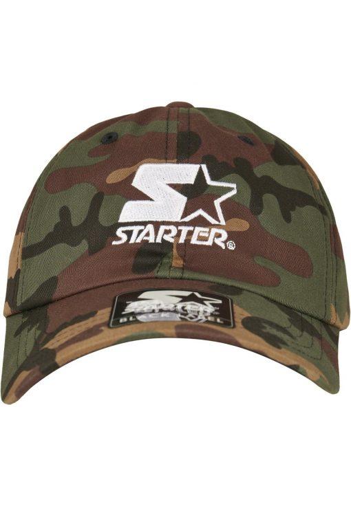 Camouflage Starter Logo Camo Dad Cap - Stitch & Simon