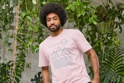 Eco-Friendly Simplified Nature Mens Organic Ethical T-Shirts by Stitch & Simon