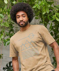 Sand Colour T-shirt