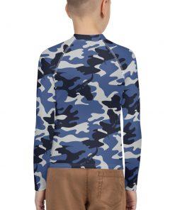 Boys Rash Vest in Camo