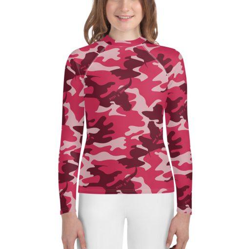 Comouflauge Rash Vest Sportswear Teenager