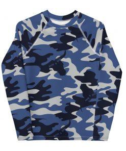 Blue Camo Rash Vest